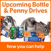 Upcoming Bottle & Penny Drives